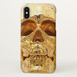 Capa Para iPhone X crânio
