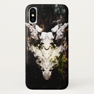 Capa Para iPhone X Crânio do demónio
