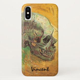 Capa Para iPhone X Crânio por Vincent van Gogh, impressionismo do