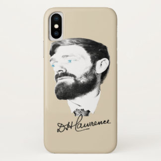 Capa Para iPhone X D H Lawrence