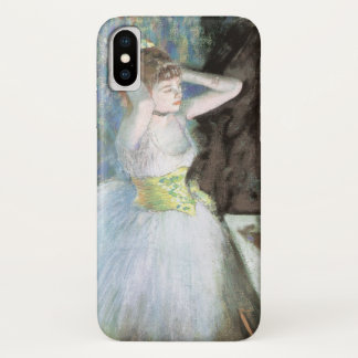 Capa Para iPhone X Dançarino em seu vestuario por Edgar Degas