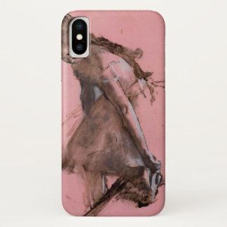 Capa Para iPhone X Dançarino que desliza em seus calçados por Edgar