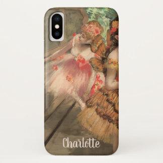 Capa Para iPhone X Dançarinos de balé em trajes da borboleta, Edgar