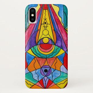 """Capa Para iPhone X De """"iPhone X da grade da introspecção Arcturian"""","""
