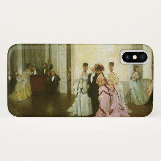 Capa Para iPhone X Demasiado cedo por James Tissot, arte do Victorian