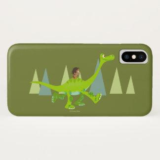 Capa Para iPhone X Desenho do ponto que monta Arlo