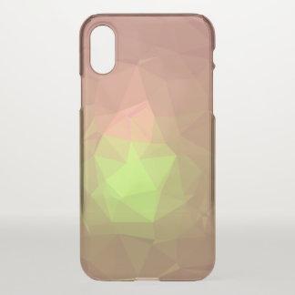 Capa Para iPhone X Design abstrato & colorido do teste padrão -