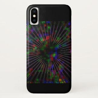 Capa Para iPhone X Design elétrico da explosão