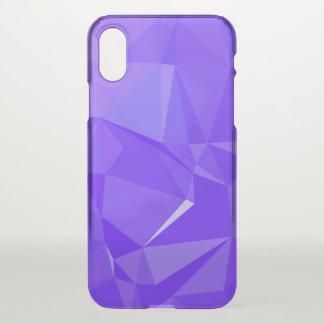 Capa Para iPhone X Design geométrico abstrato de LoveGeo - beringela