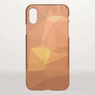 Capa Para iPhone X Design geométrico abstrato de LoveGeo - caramelo