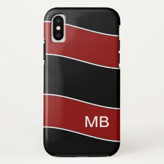 Capa Para iPhone X Design moderno do monograma