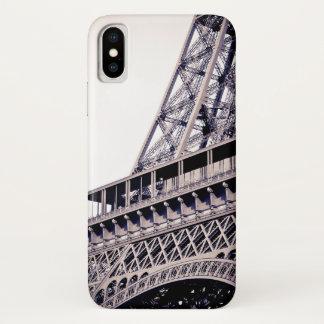Capa Para iPhone X Detalhe da torre Eiffel, Paris, France