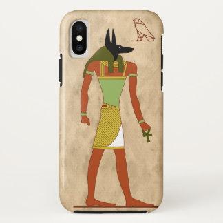 Capa Para iPhone X Deus egípcio Anubis