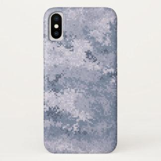 Capa Para iPhone X Digi cinzento Camo