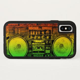 Capa Para iPhone X Dinamitador do gueto de Rasta