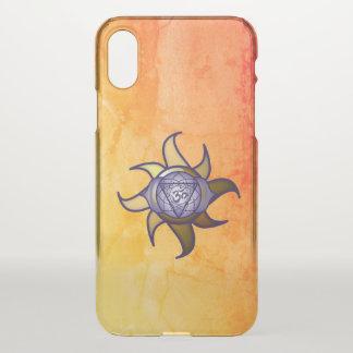 """Capa Para iPhone X Do """"capas de iphone da introspecção da ioga"""