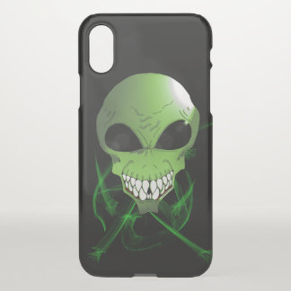 Capa Para iPhone X Do costume estrangeiro do iPhone-X caixa verde do