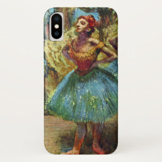 Capa Para iPhone X Dois dançarinos por Edgar Degas, arte do balé do