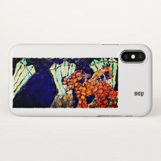 Capa Para iPhone X Dragão e opal