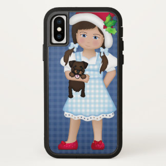 Capa Para iPhone X E seu cão pequeno demasiado!  Dorothy