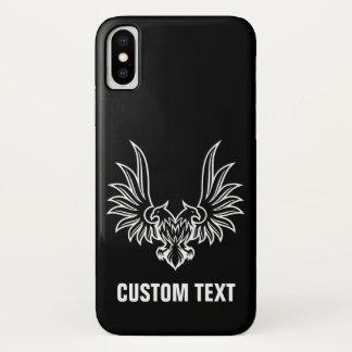 Capa Para iPhone X Eagle com duas cabeças