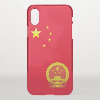 Capa Para iPhone X Emblema de China