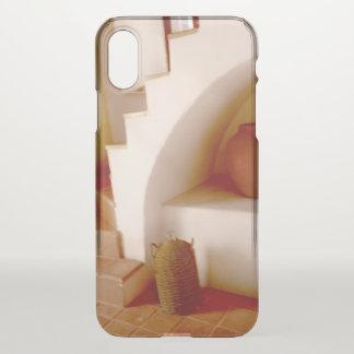Capa Para iPhone X Etapas do sudoeste do Sepia