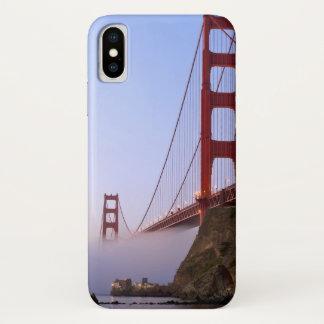 Capa Para iPhone X EUA, Califórnia, San Francisco. Golden Gate 3