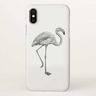 Capa Para iPhone X Exemplo do flamingo
