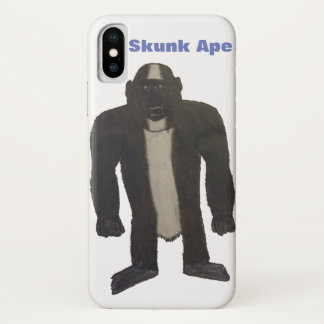 Capa Para iPhone X Exemplo do macaco da jaritataca