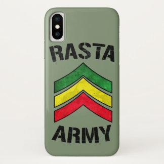 Capa Para iPhone X Exército de Rasta