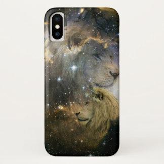Capa Para iPhone X Explore a galáxia com coragem