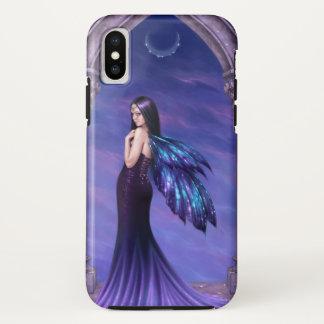 Capa Para iPhone X Fada da asa da galáxia da mística