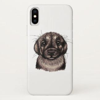 Capa Para iPhone X Filhote de cachorro