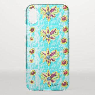 Capa Para iPhone X Flor da jóia