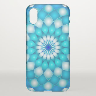 Capa Para iPhone X flor de Lotus da mandala do caso do iPhone X