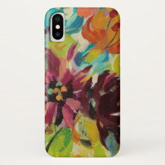 Capa Para iPhone X Flores da alegria do outono