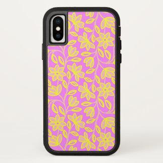 Capa Para iPhone X Flores da alegria (mais opções) -