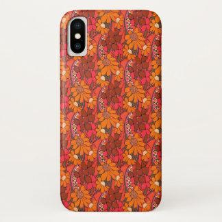 Capa Para iPhone X Flores Groovy de Falln