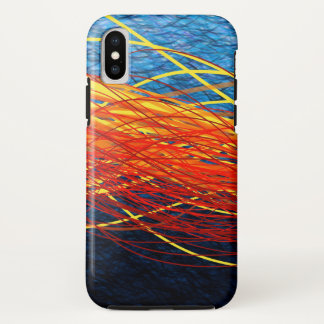 Capa Para iPhone X Flow4 brilhantes - Caso do iPhone X de Apple