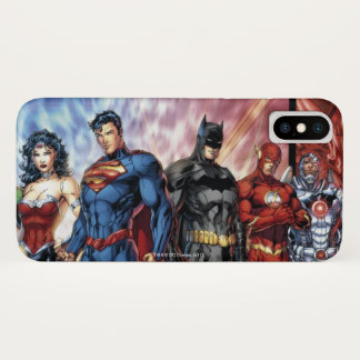 Capa Para iPhone X Formação nova da liga de justiça 52 da liga de