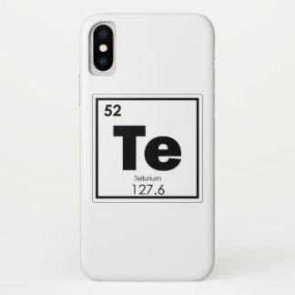 Capa Para iPhone X Formul da química do símbolo do elemento químico