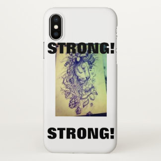 CAPA PARA iPhone X FORTE!