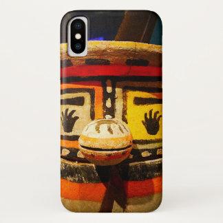 Capa Para iPhone X Foto de madeira bonito, engraçada, parva,