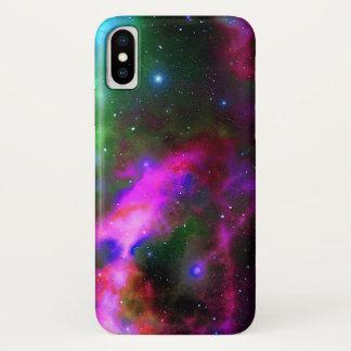 Capa Para iPhone X Foto do espaço da nebulosa