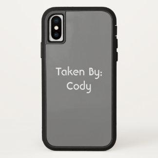 Capa Para iPhone X Frase e nome feitos sob encomenda personalizados
