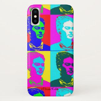 Capa Para iPhone X Frida Kahlo inspirou o retrato