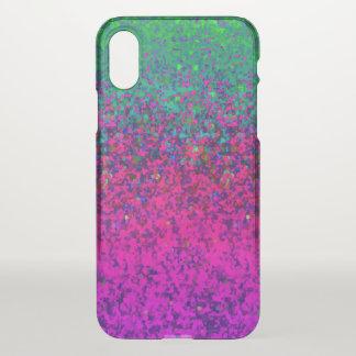 Capa Para iPhone X fundo da poeira do brilho do caso do iPhone X