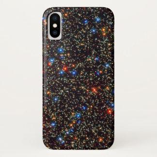 Capa Para iPhone X Fundo das estrelas & das luzes do espaço profundo