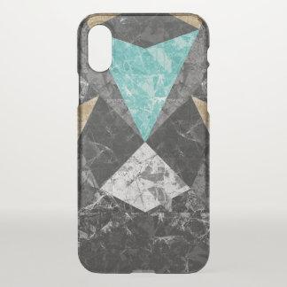Capa Para iPhone X fundo de mármore G430 do caso do iPhone X
